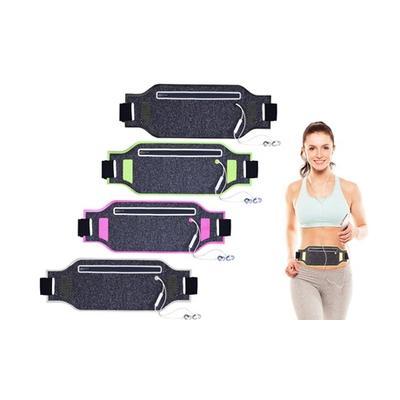 Pochette ceinture pour le sport : Vert / 1