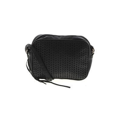 Summer & Rose - Summer & Rose Crossbody Bag: Black Solid Bags