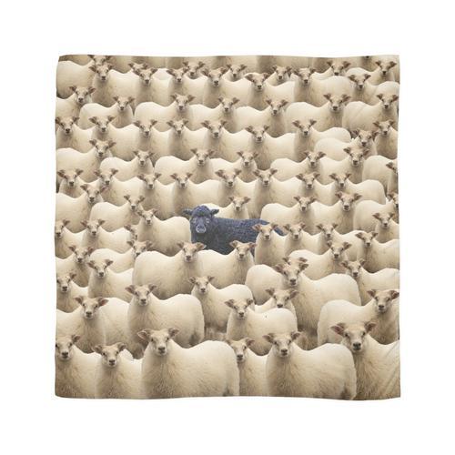 Schwarzes Schaf Tuch