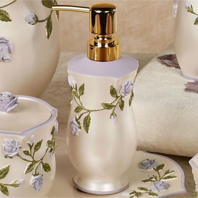 Enchanted Rose Lotion Soap Dispenser Lavender , Lavender