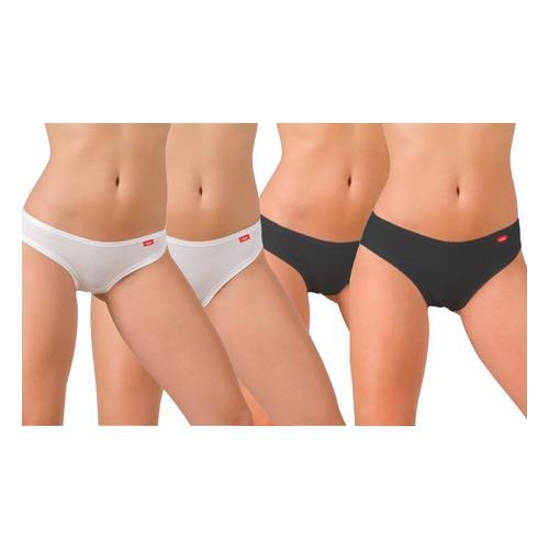 Liabel: Pants mit niedriger Taille / Weiß / Gr. M