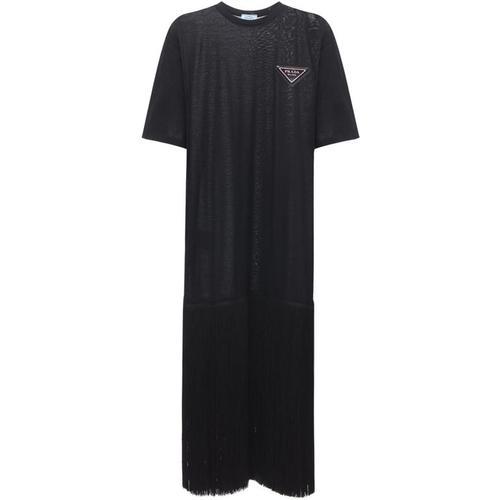 Prada Kleid Aus Jerseystrick