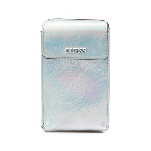 Guess Damen Smartphone Case Picnic Mini Silber