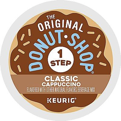 The Original Donut Shop Classic Cappuccino 80-Count (4 Boxes Of 20) K-Cup® Pods 80 Ct. Coffee
