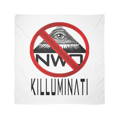 Killuminati - Anti Illuminati / Neue Weltordnung Tuch