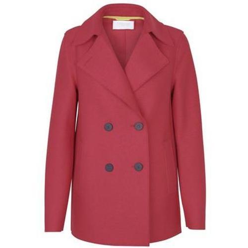 Harris Wharf London Mantel aus gepresster Wolle