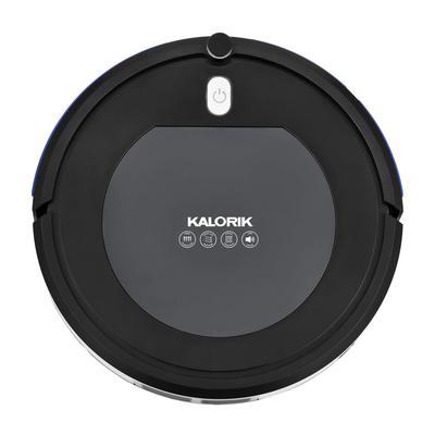 Kalorik Home Ionic Pure Air Robot Vacuum, Black and Gray by Kalorik in Stainless Steel