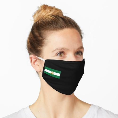 andalusische Flagge Maske