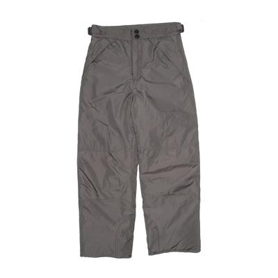 London Fog Snow Pants: Gray Sporting & Activewear - Size 8