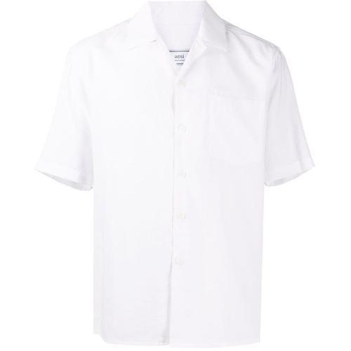 AMI Hemd mit kubanischem Kragen