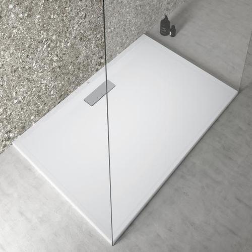 Ideal Standard Ultra Flat New Rechteck-Duschwanne L: 120 B: 80 H: 2,5 cm weiß T446901