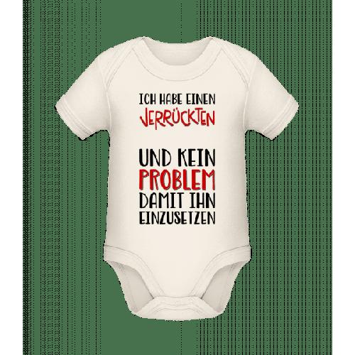 Kein Problem Ihn Einzusetzen - Baby Bio Strampler