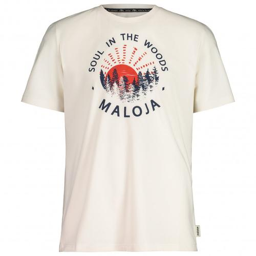 Maloja - HeckenkirscheM. - T-Shirt Gr XS weiß