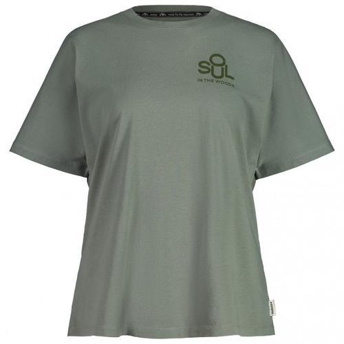 Maloja - Women's MargeriteM. - T-Shirt Gr M grau