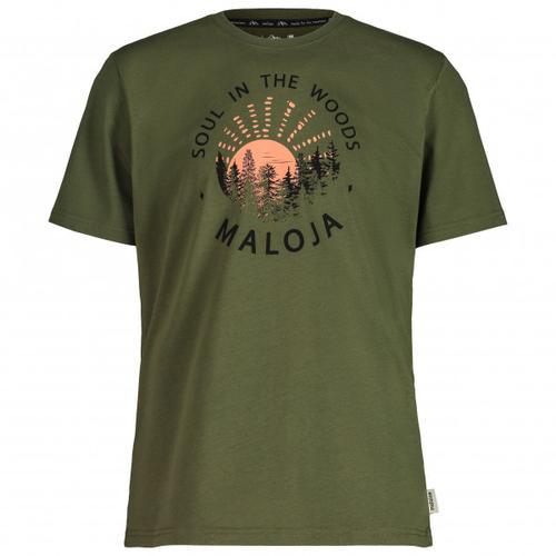 Maloja - HeckenkirscheM. - T-Shirt Gr L oliv