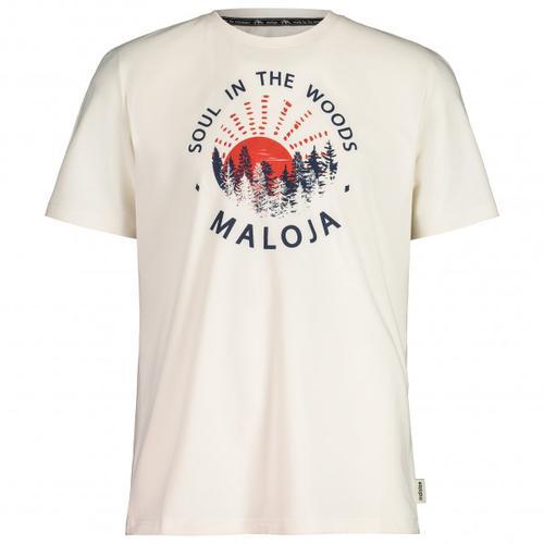 Maloja - HeckenkirscheM. - T-Shirt Gr XL weiß