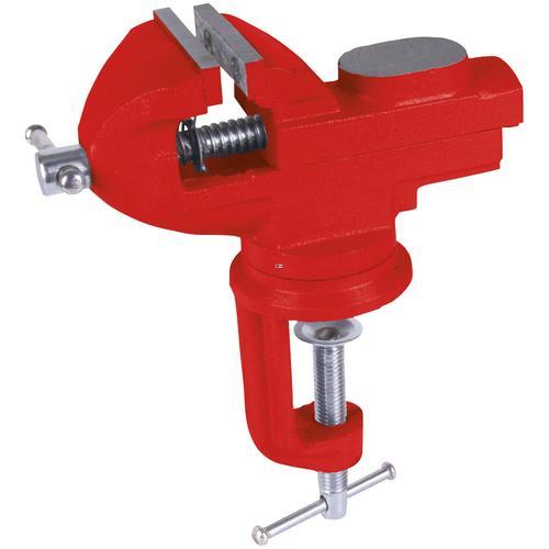 Connex Schraubstock, 60 mm, drehbar rot Schraubstöcke Werkzeug Maschinen Schraubstock