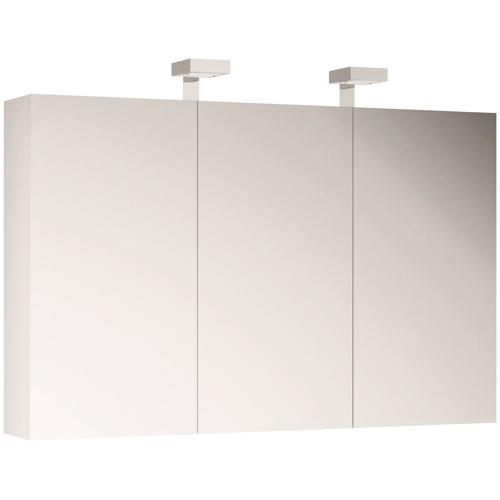 Allibert Spiegelschrank, mit LED-Beleuchtung weiß Spiegelschränke Beleuchtung Badmöbel Spiegelschrank