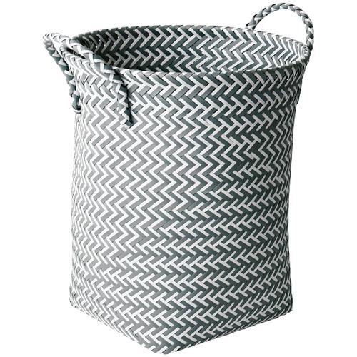 MSV Wäschekorb, 35 x 45 cm grau Wäschekorb