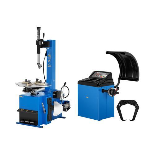 MSW Set Reifenmontiermaschine und Reifenwuchtmaschine - 750 W - 11 bis 21