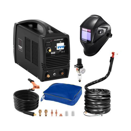 Stamos Pro Series Schweißset Plasmaschneider - 60 A - 400 V + Schweißhelm – Carbonic