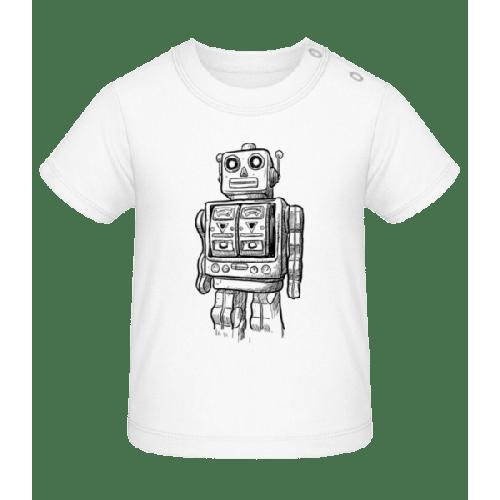 Baby Roboter - Baby T-Shirt