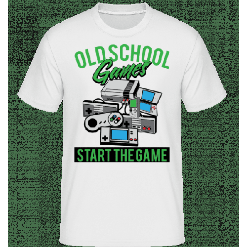 Oldschool Games - Shirtinator Männer T-Shirt