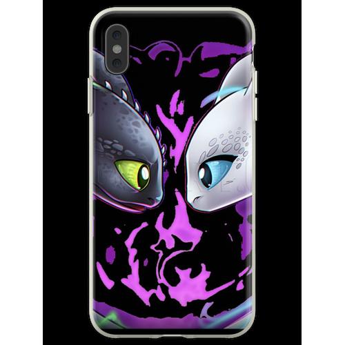 Zahnlose Nachtpelzmaske Flexible Hülle für iPhone XS Max