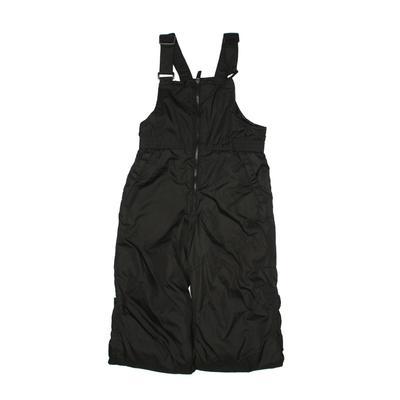 ZeroXposur Snow Pants With Bib - Elastic: Black Sporting & Activewear - Size Medium