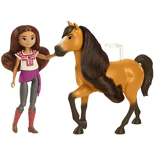 Spirit Puppe Lucky (ca. 18 cm) & Pferd Spirit (ca. 20 cm), ab 3 Jahren