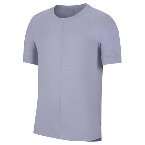 """Nike Herren Yoga T-Shirt """"Nike Yoga Dri-Fit"""", lila, Gr. S"""