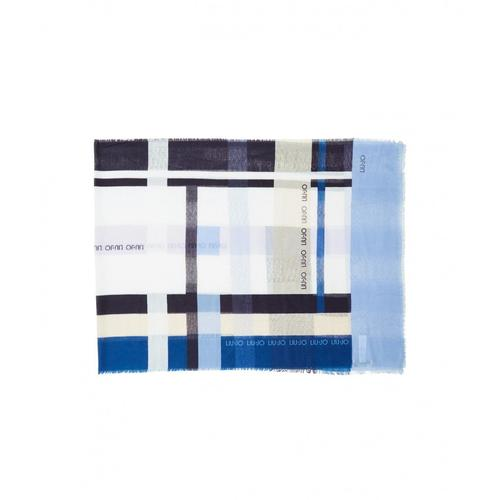Liu Jo Damen Stola Stripes Blau