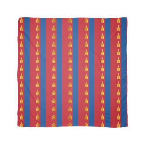 Flagge der Mongolei Tuch
