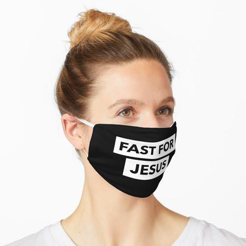 Fasten für Jesus Maske
