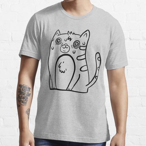 Verschwitzte Katze Essential T-Shirt