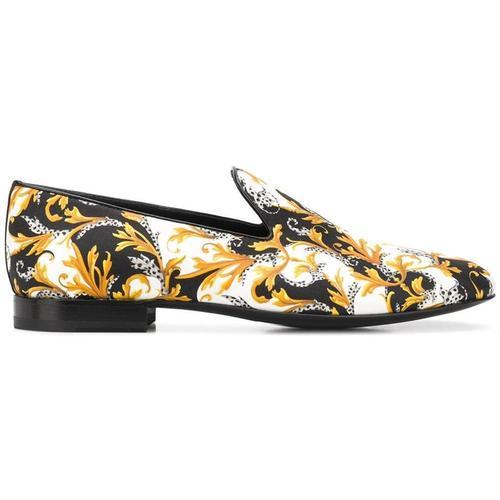 Versace Slipper aus Seide