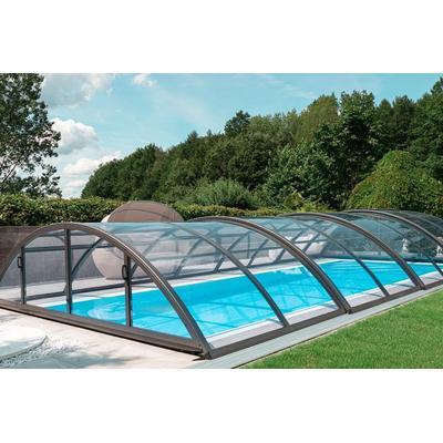 Swimmingpool-Überdachung / Abdeckung SkyCover® Base Clear 4.2x8.5m