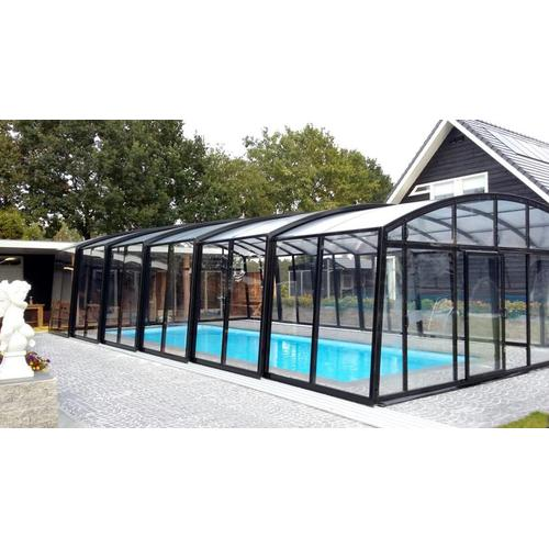 Schwimmhalle SkyCover® Royal Clear 5.7x12.7m