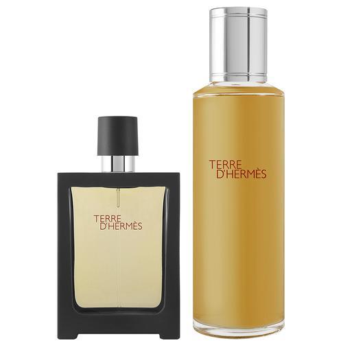 Hermès Terre d`Hermes EDP Geschenkset EDP 75 ml + EDP 5 ml + 40 ml Duschgel