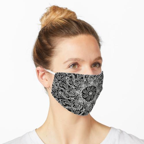 KO Zentangle (B & W) Maske