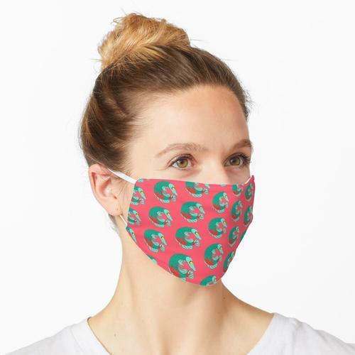 Bunter Arapaima Fisch Maske