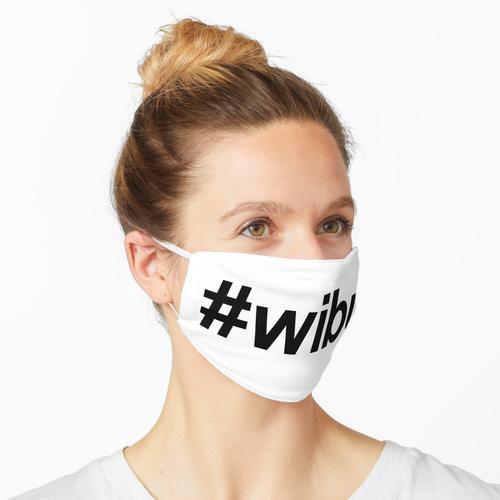 Wibu Hashtag Maske