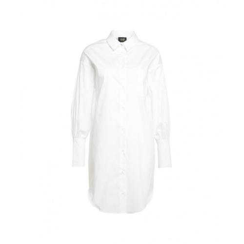 Liu Jo Damen Oversize Hemd Weiß