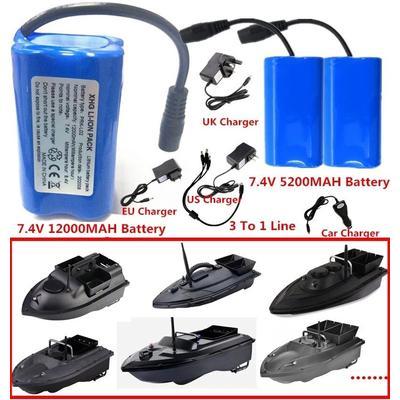 Batterie 3To1 7.4V 12000Mah 5200...