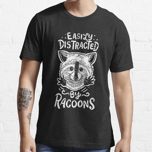 Waschbär Waschbär Waschbär Essential T-Shirt