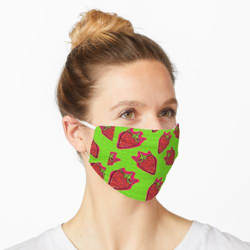 Strohhalm Maske