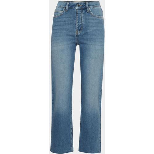 IRO Flared Fit Jeans mit Knopfleiste