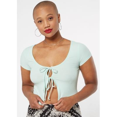 Rue21 Womens Mint Double Tie Cardigan - Size Xl