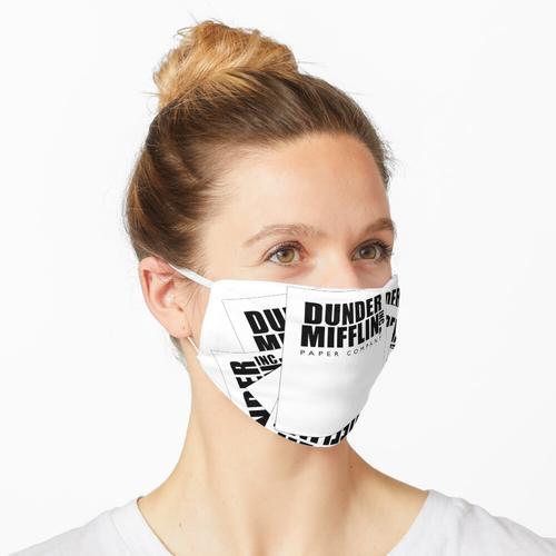 Stapel Papier Maske