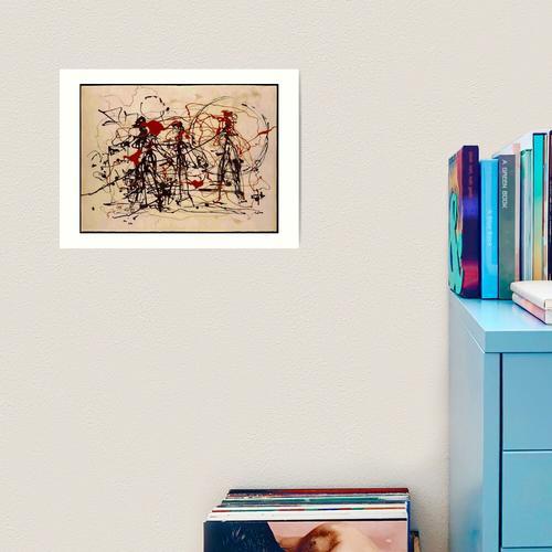 Jackson Pollock Ohne Titel Kunstdruck